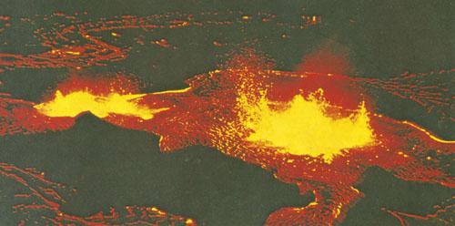 Jezero lave vulkana Kilauea, Havaji