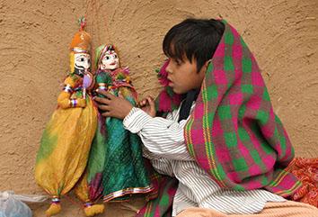 Lutke i marionete - Indija