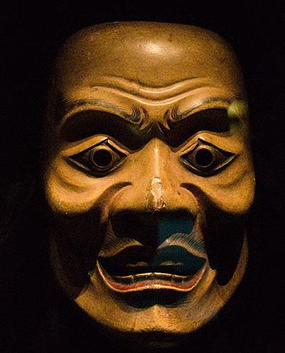 Japanska Noh maska iz 17. stoljeća