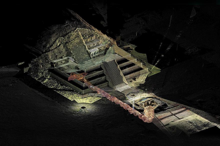 Rekonstrukcija podzemnog svijeta Teotihuacana