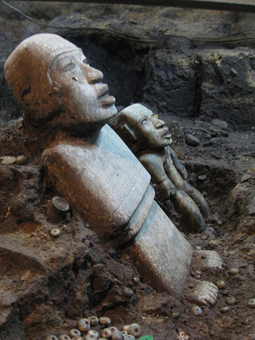 Teotihuacanske statue