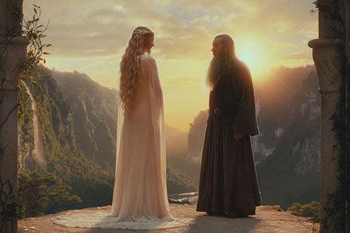 Gandalf i Galadriel