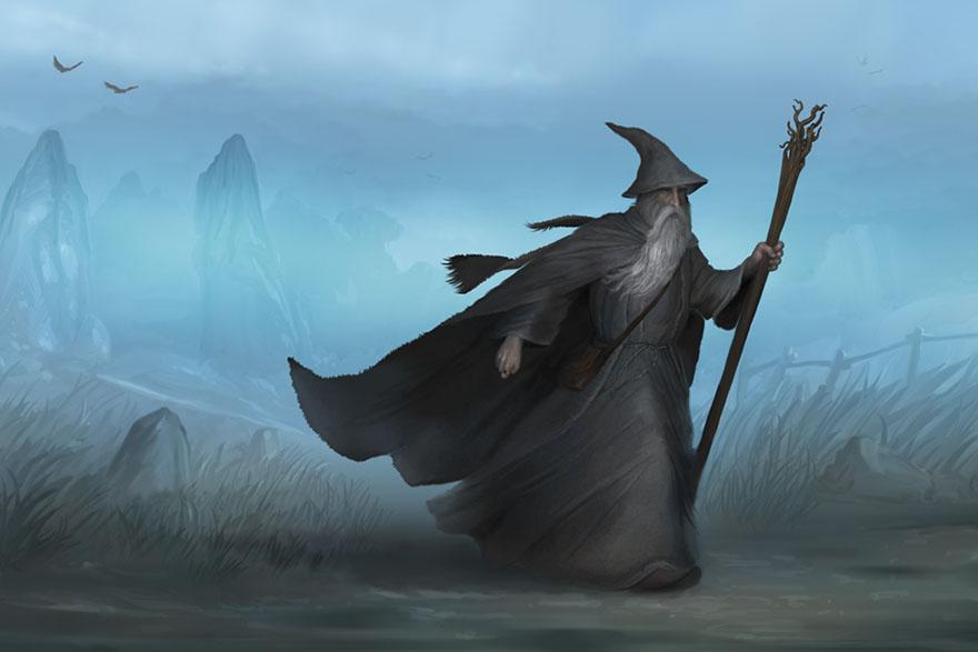 Gandalf - Sivi lutalica