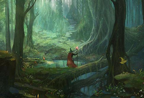 Gandalf u šumi