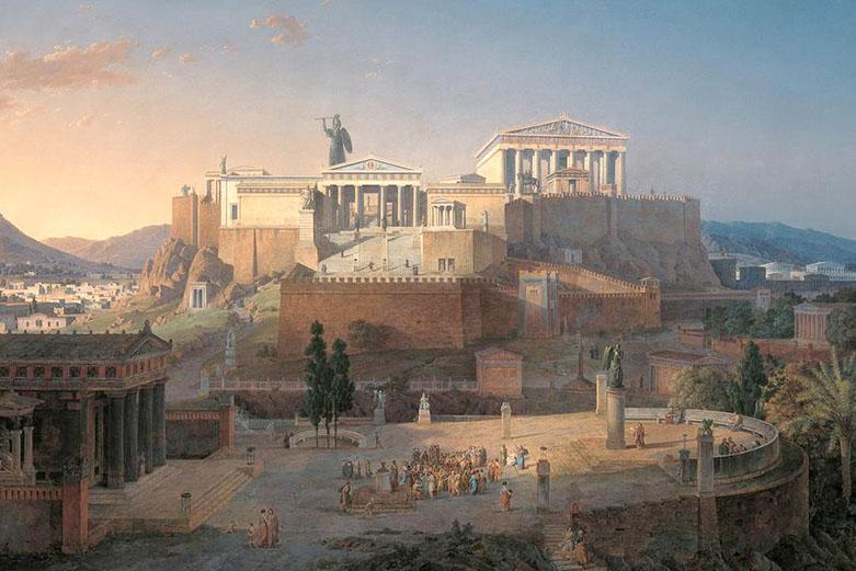 Akropola - Klenze