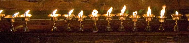 Tibetanske yak svijeće
