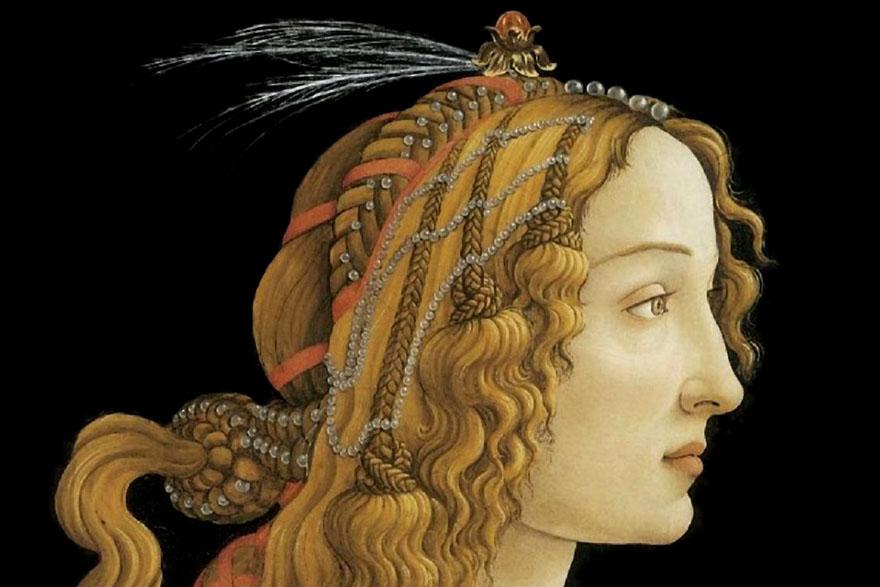 Sandro Botticelli - Simonetta Vespucci