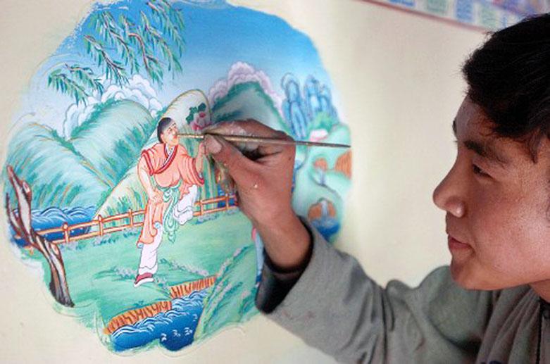 Tibetanska slika