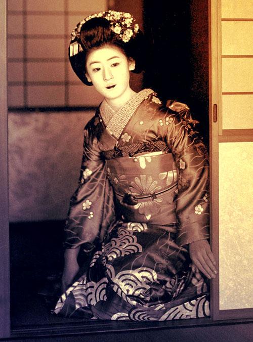 Seigaiha kimono