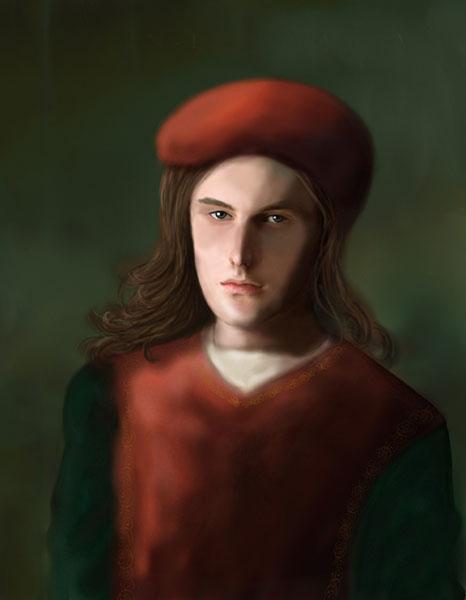 Giovanni Pico della Mirandola - portret