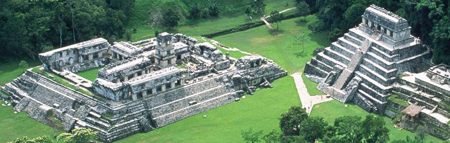 Palenque - pogled iz zraka