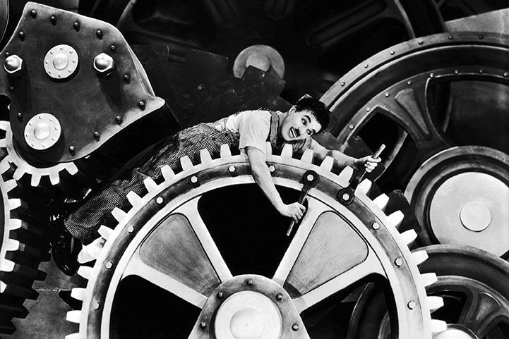 Charlie Chaplin - moderna vremena
