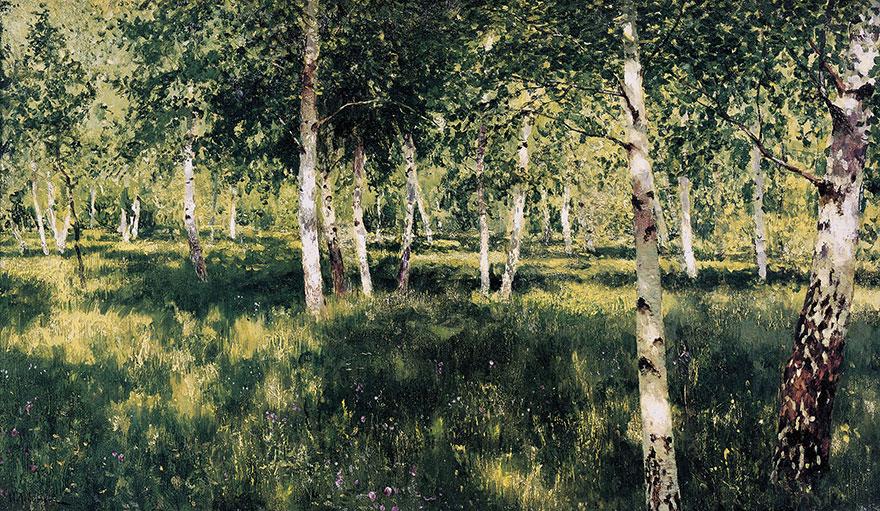 Isak Levitan - Brezov šumarak