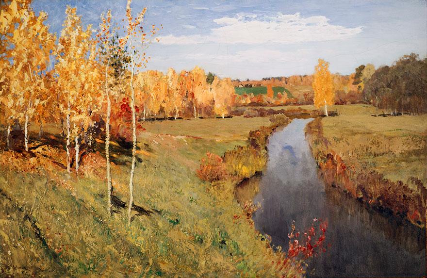 Isak Levitan - Zlatna jesen