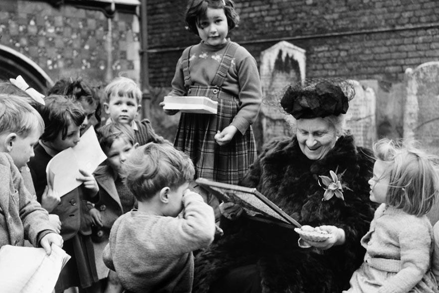 Maria Montessori i djeca