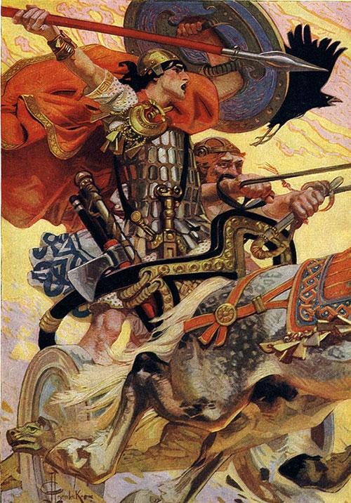 Mitski junak Cuchulainn