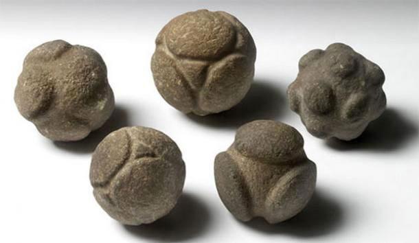 Neolitski poliedri iz Ashmolean muzeja u Oxsfordu