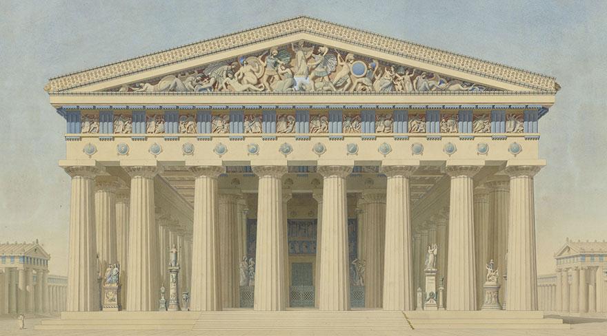 Rekonstrukcija dorskog hrama