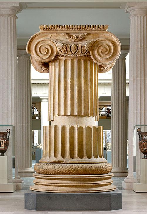 Jedan od stupova Artemidinog hrama u Sardu