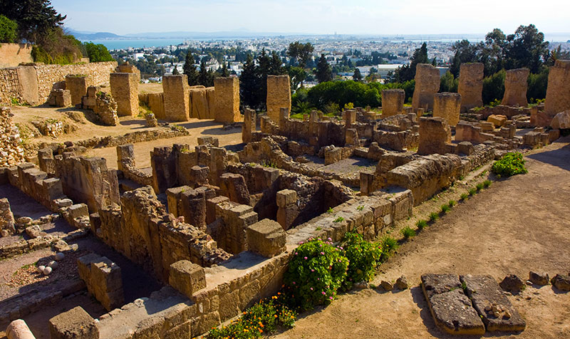 Ruševine drevne Kartage