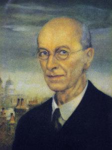 Arthur Rackham - autoportret