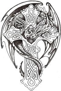 zmaj-u-keltskoj-mitologiji