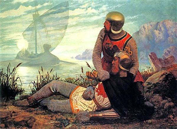 1862-Death-of-Arthur,-by-John-Garrick-web