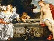 Tizian - Nebeska i zemaljska ljubav