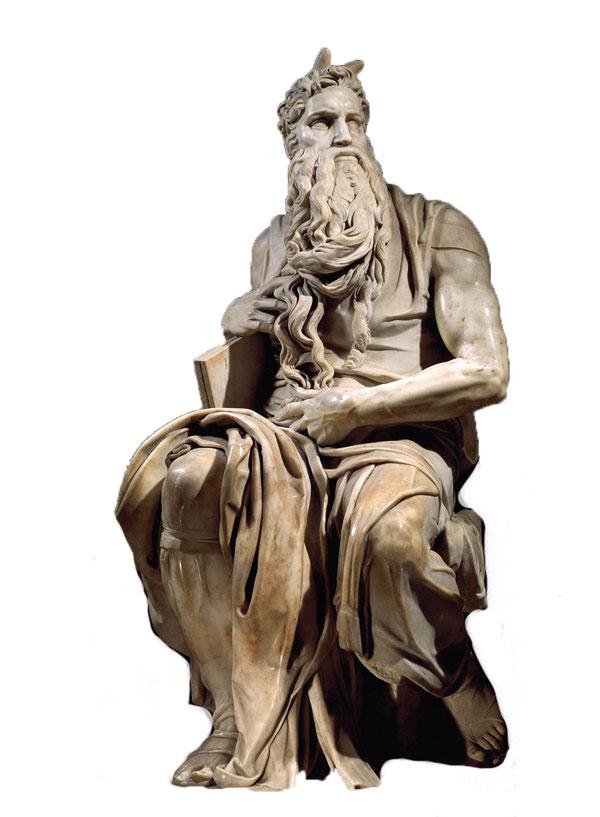 Michelangelo-Buonarroti---Mojsije