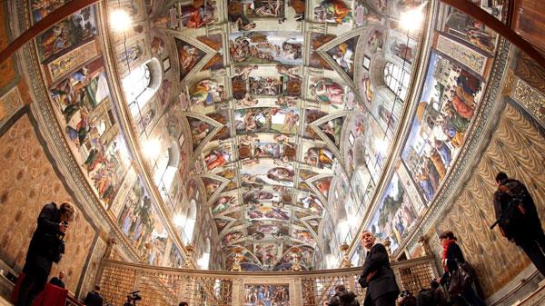 Michelangelo-Buonarroti---Sistinska-kapela