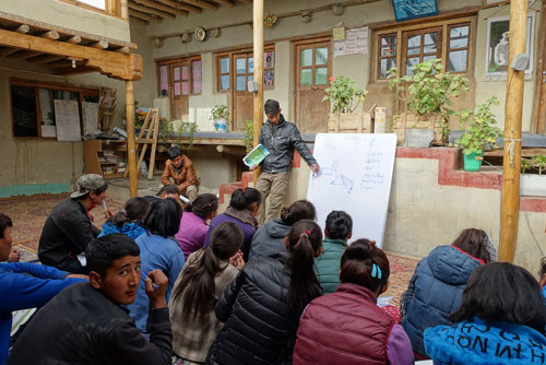 Sonam-Wangchuk-SECMOL-interactive-lecture-about-solar-energy