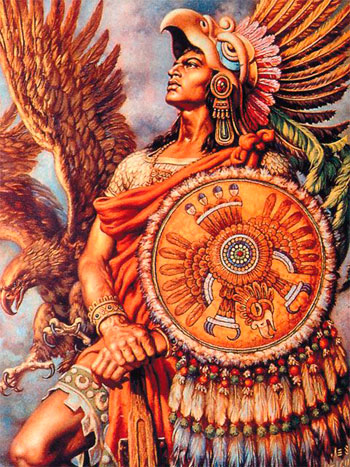 simbolizam-orla-astecki-ratnik