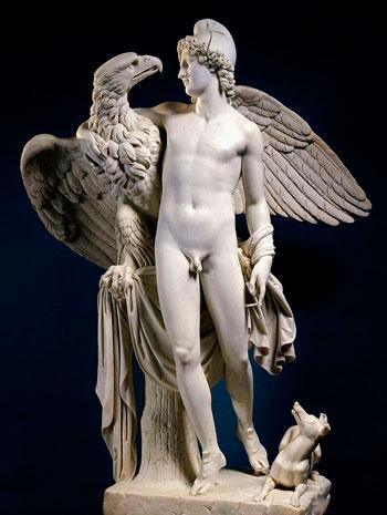 simbolizam-orla-zeus-i-ganimed