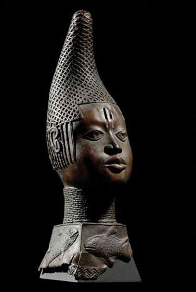 Beninske_bronce_kraljica_majka