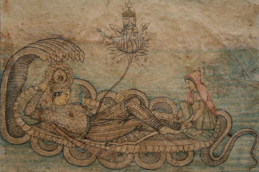 Upanishade-visnu-se-odmara-na-zmiji-sesi