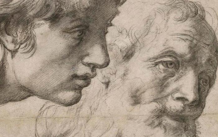 Rafaelovi_Crtezi_Dva_apostola
