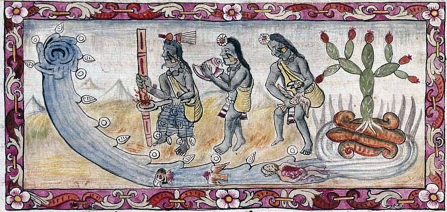 Mitovi-o-potopu-azteci-potop