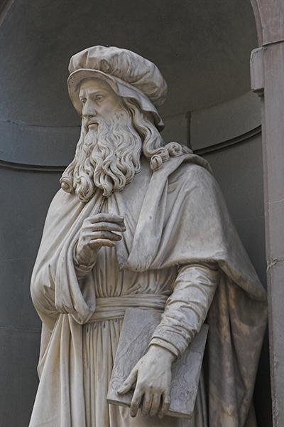 LeonardoUffizi