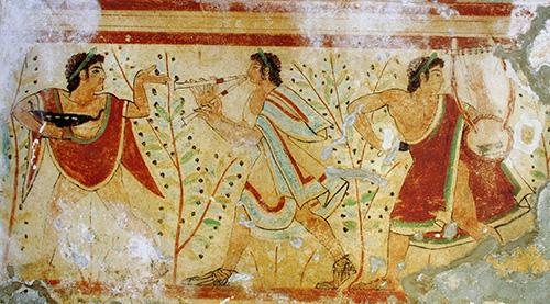 Rodenje-zapadne-glazbe-etruscanski-muzicari
