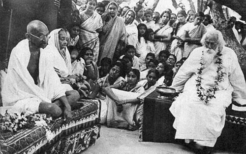 Gandhi-Tagore