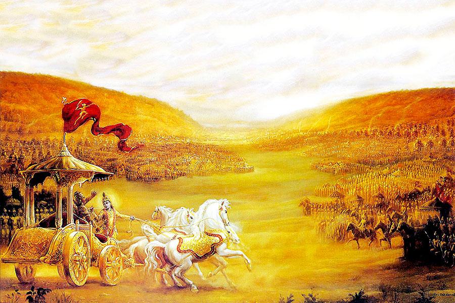 Mahabharata-naslovna