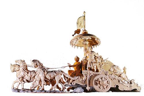 Mahabharata-statua