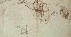 Atlantski kodeks, list 860, Ambrozijanska knjižnica, Milano.