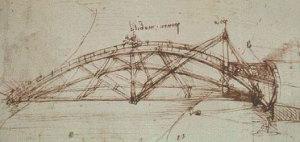Atlantski kodeks, list 855. Ambrozijanska knjižnica, Milano.