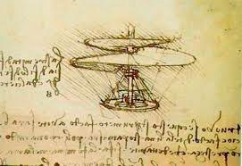 Crtež zračnog vijka. Rukopis B.