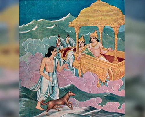 mahabharata-II--yudhisthir-indra