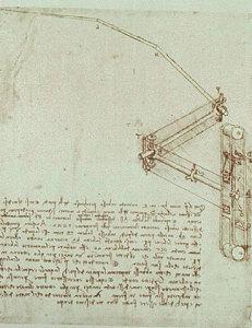 Atlantski kodeks, list 934. Ambrozijanska knjižnica, Milano.