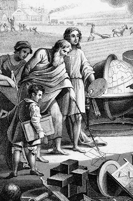 Pitagorejsko-obrazovanje-dus-Piatagora-i-ucenici