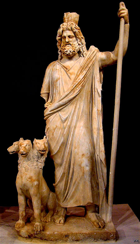 Had, grčki bog podzemnog svijeta.