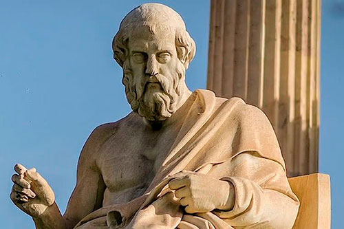 Platon-statua